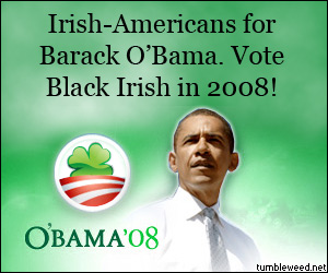 Vote for O&#039;Bama!